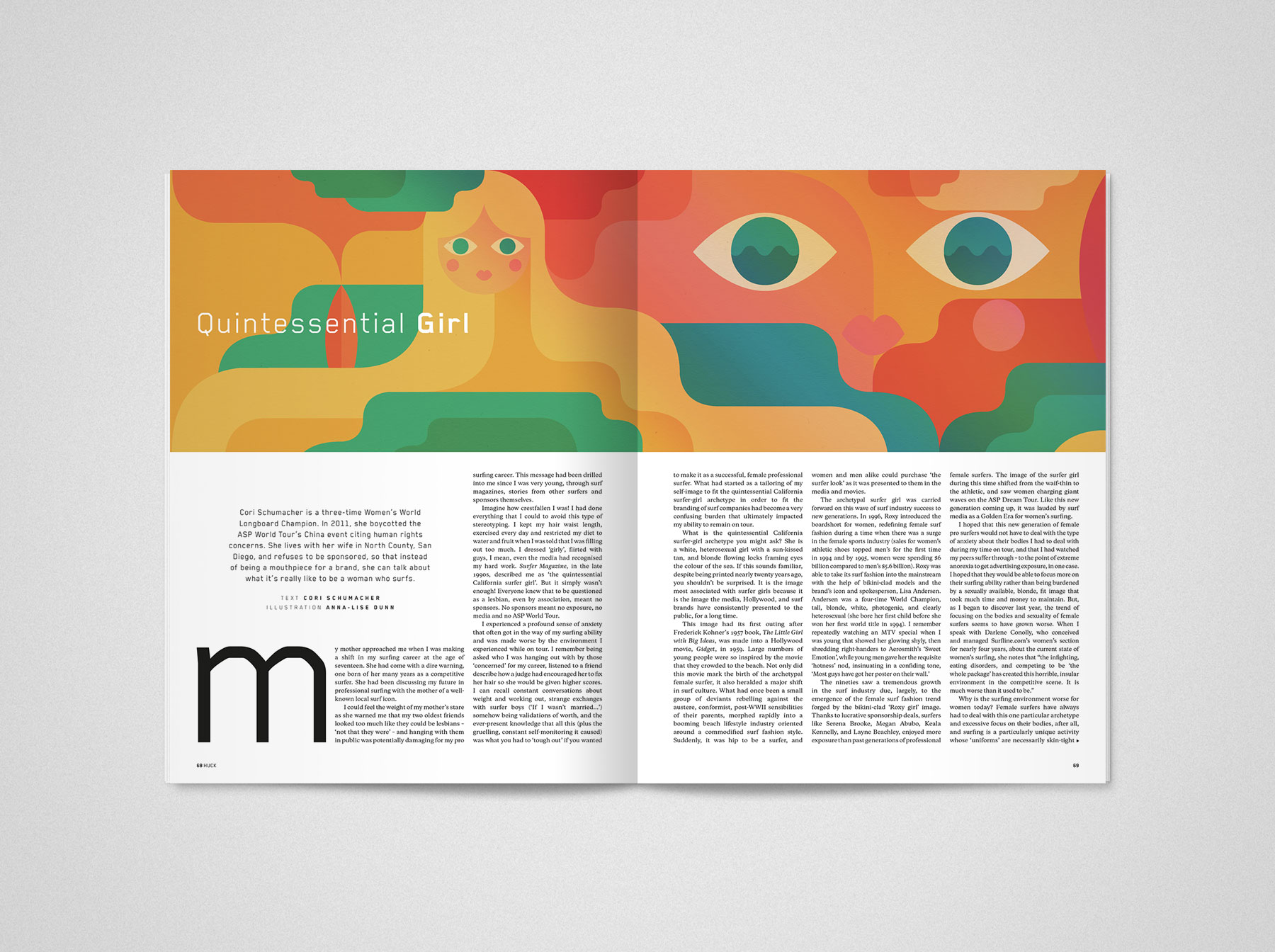 TCOLondon Huck 33 – Identity Evan Lelliott – Graphic Design