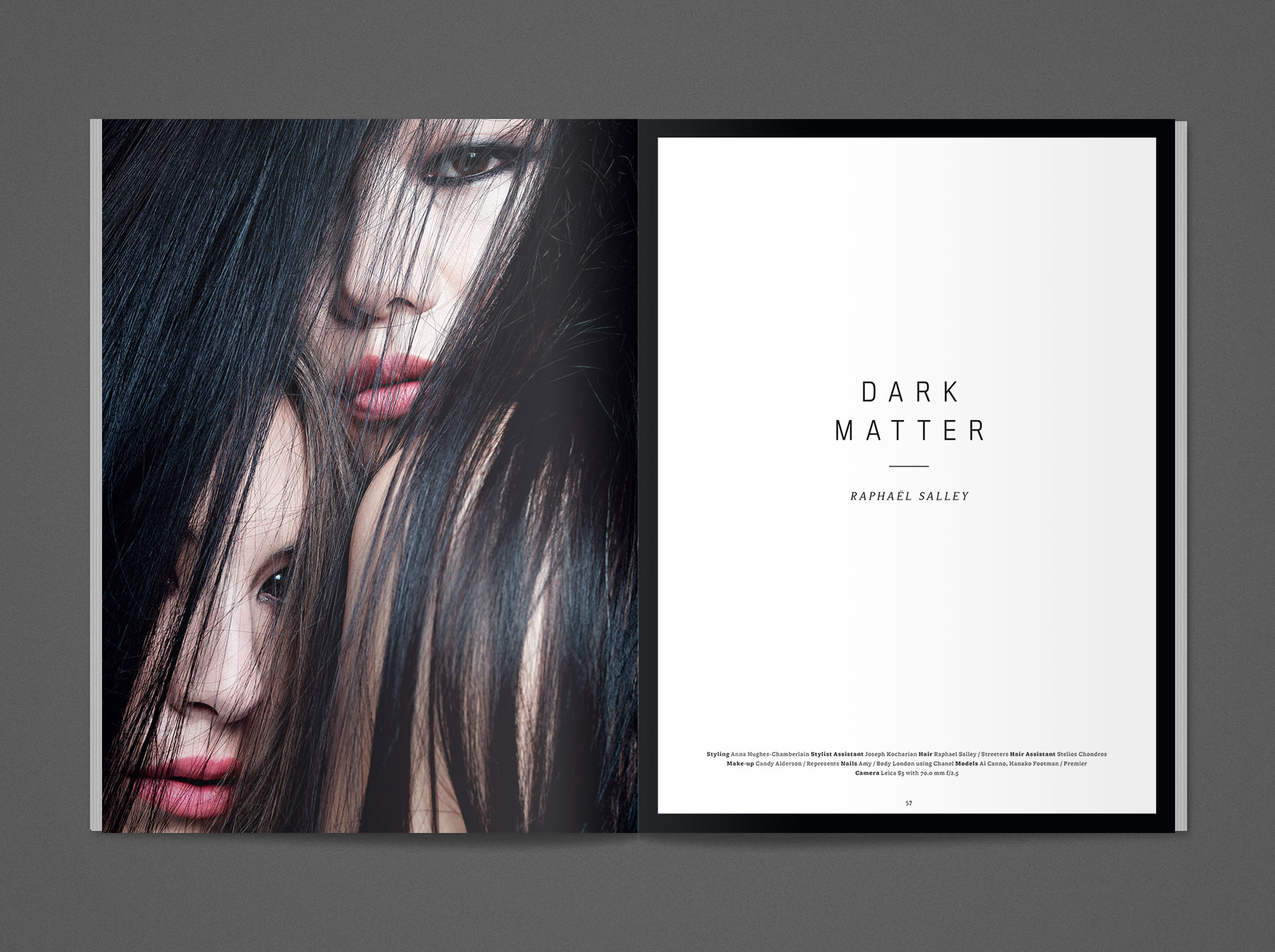 Rankin S magazine Evan Lelliott – Graphic Design